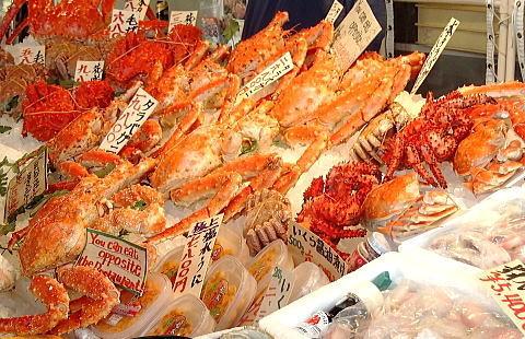 カニ通販ショップを運営する海産物専門店